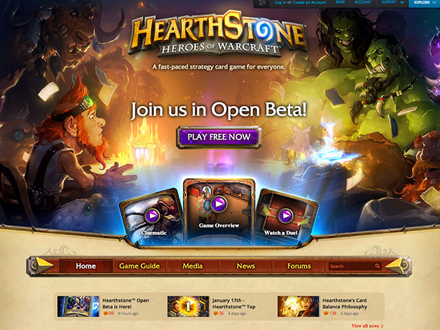 HearthStone open bêta