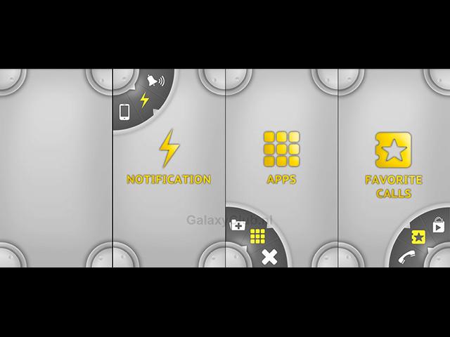 Interface Samsung Galaxy S5 : capture 1