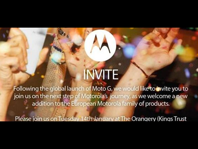 Invitation Motorola
