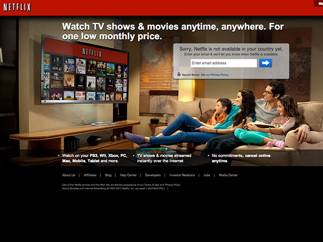 Netflix France septembre