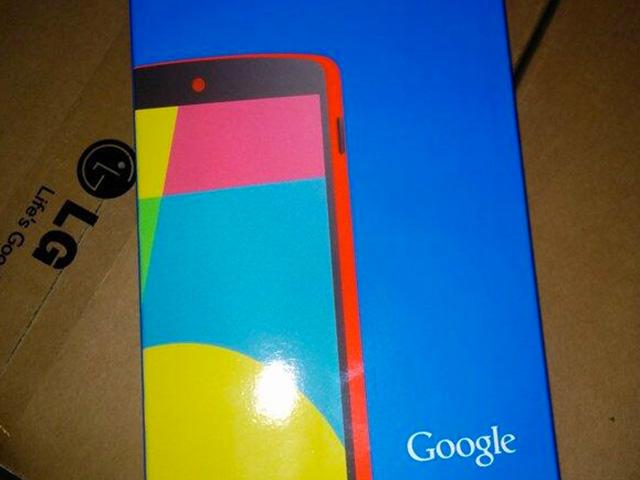 Nexus 5 rouge (photo janv14)