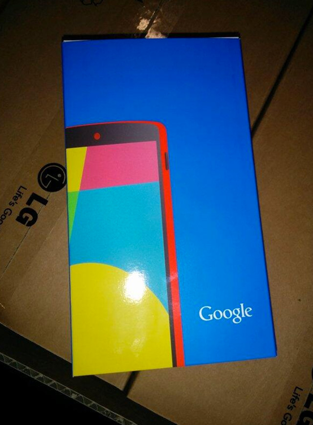 Nexus 5 rouge : image 1