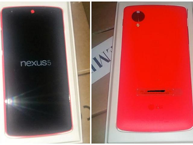 Sortie Nexus 5 rouge : image 2