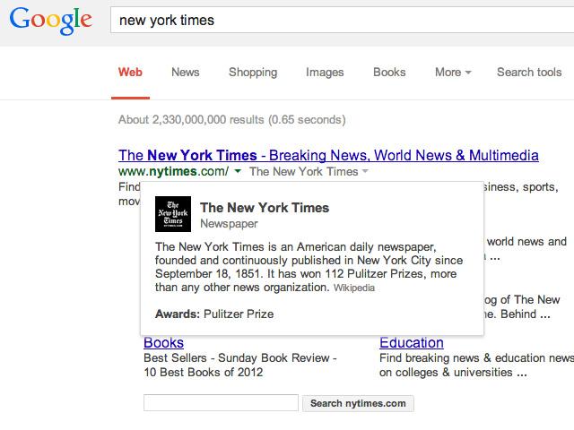 Nouveautés SERP Google Search janv14
