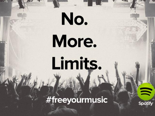 Plus de limites Spotify