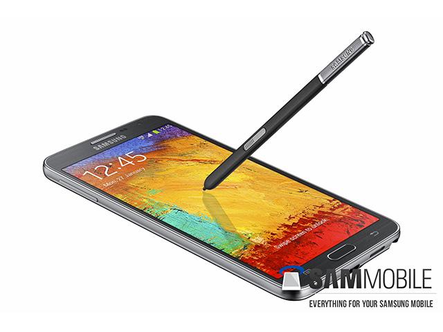 Rendu presse Samsung Galaxy Note 3 Neo : image 1