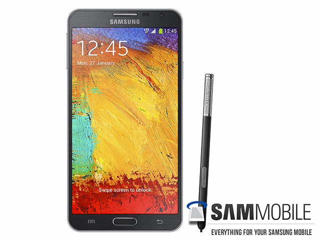 Rendu presse Samsung Galaxy Note 3 Neo : image 3