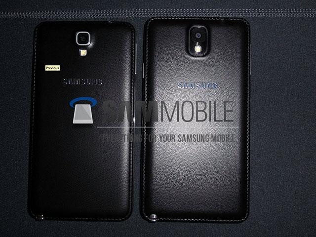 Samsung Galaxy Note 3 Neo : de nouvelles images et des infos en plus sur ses spécifications