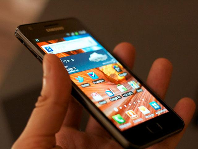 Scanner empreintes digitales Samsung Galaxy S5.