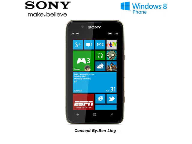 Sony Windows Phone 8