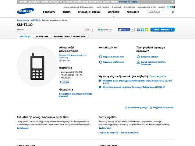 Specs Samsung Galaxy Tab 3 Neo