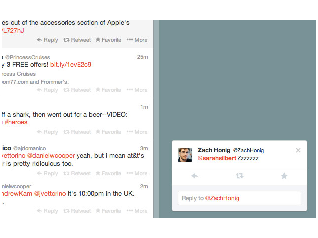 Twitter expérimente des notifications pop-up