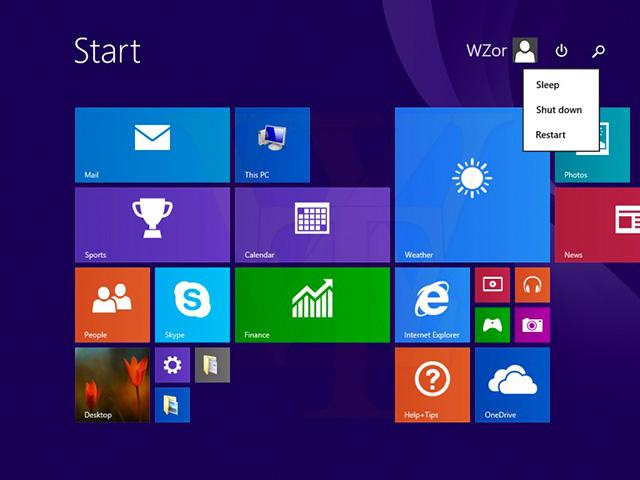 Windows 8.1 Update 1 : capture 1