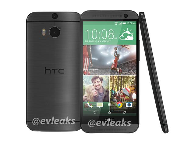 HTC M8 gris