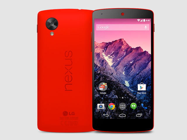 Nexus 5 rouge Play Store