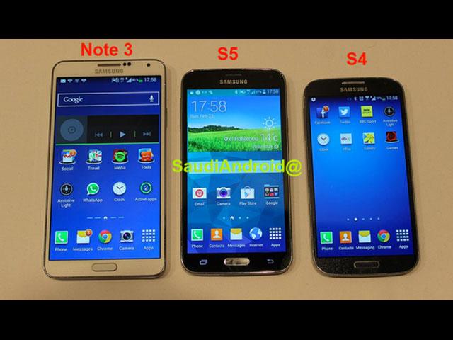 Photo Samsung Galaxy S5 : image 4