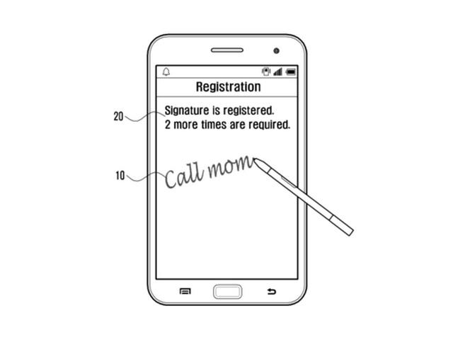 Reconnaissance écriture Samsung : image 1