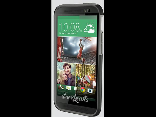 Rendu presse HTC M8