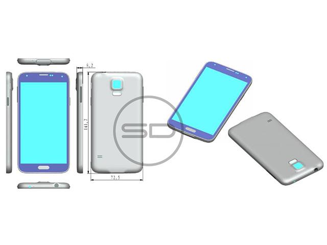 Rendu Samsung Galaxy S5