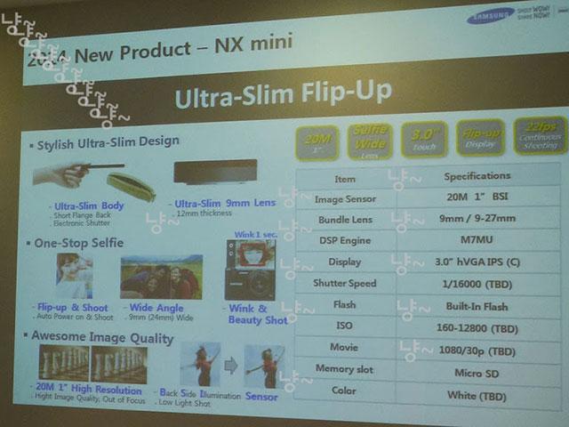 Samsung NX Mini : image 2