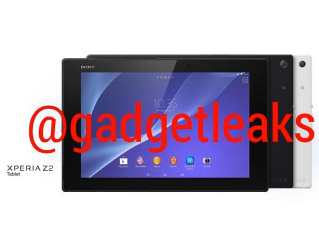 Sony Xperia Tablet Z2 : image 3