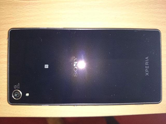 Sony Xperia Z2 de dos