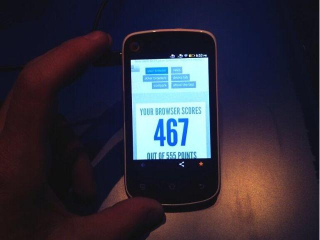 Le Spreadtrum SC6821, un smartphone à $25