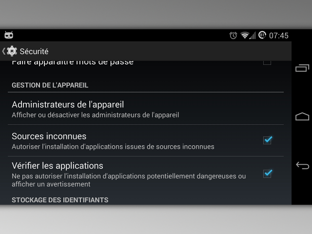 Google améliore la vérification des applications Android hors Play Store