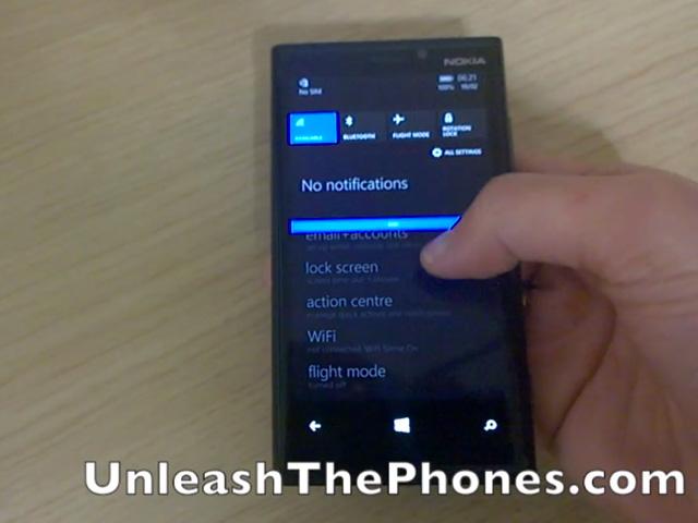 Vidéo Centre d'Action Windows Phone 8.1