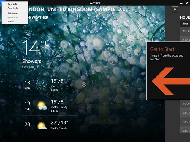 Vidéo Démo Windows 8.1 Update 1