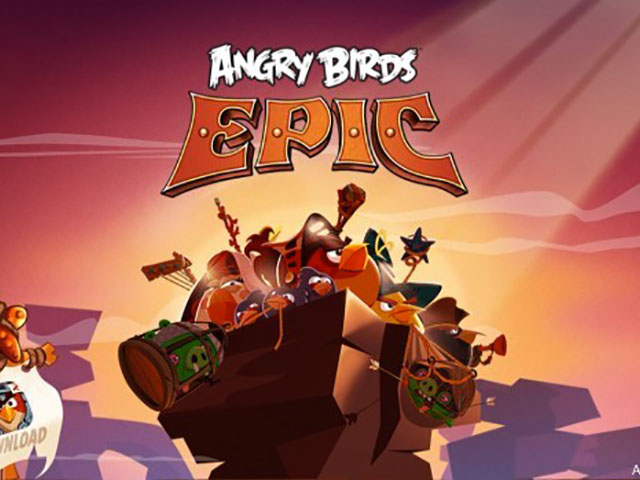 Angry Birds Epic : capture 1