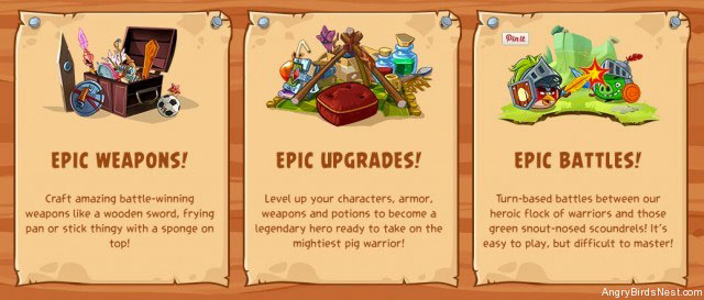 Angry Birds Epic : capture 2