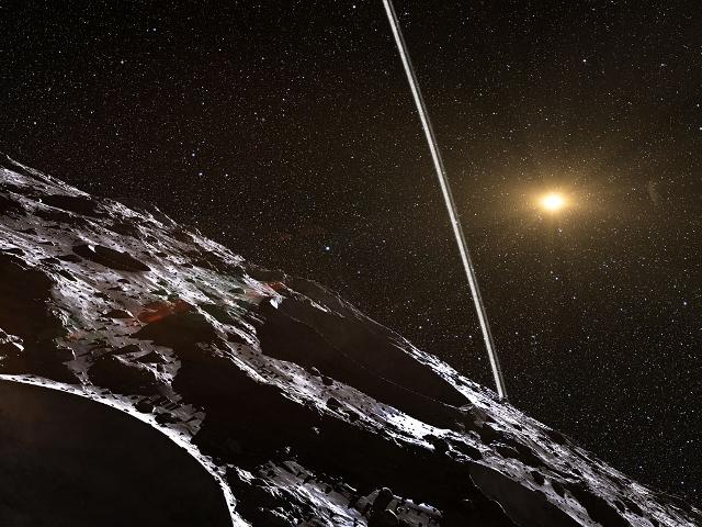 Des anneaux gravitant autour d'un astéroïde, c'est possible !