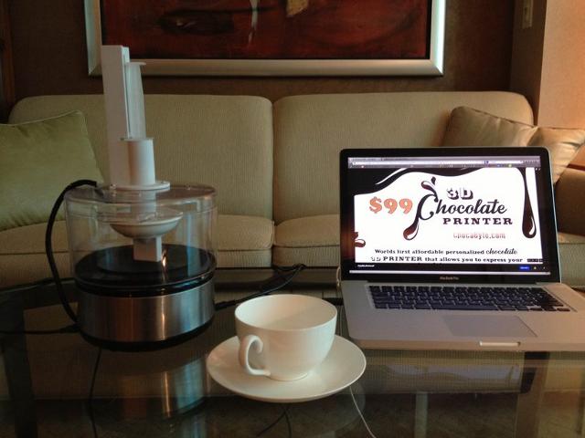 ChocaByte, l'imprimante 3D qui imprime vos chocolats