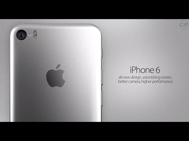 Concept iPhone 6 écran incurvé