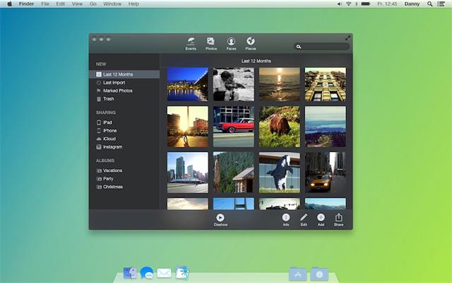 Concept OS X 10.10 Syrah : capture 6
