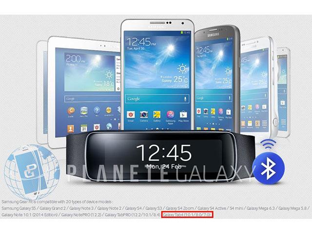Bourde Galaxy Tab 4