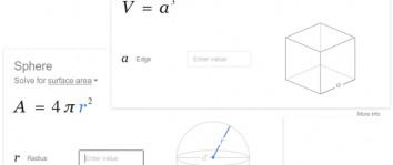 Google vous aide avec la géométrie