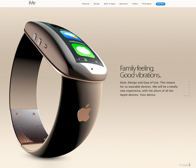 iMe concept iWatch : image 2