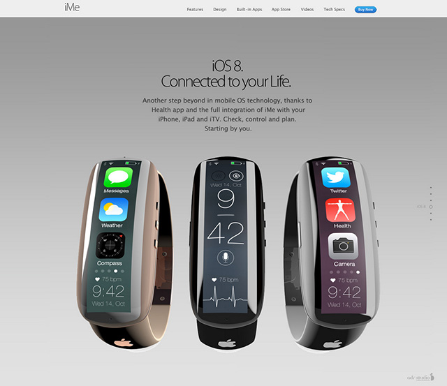 iMe concept iWatch : image 3