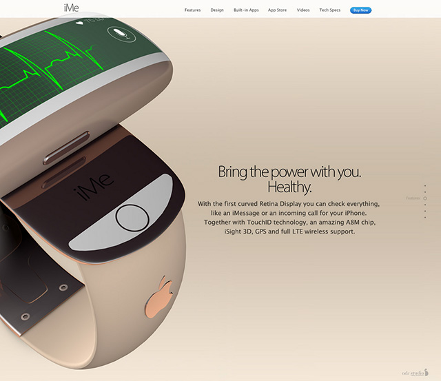 iMe concept iWatch : image 5