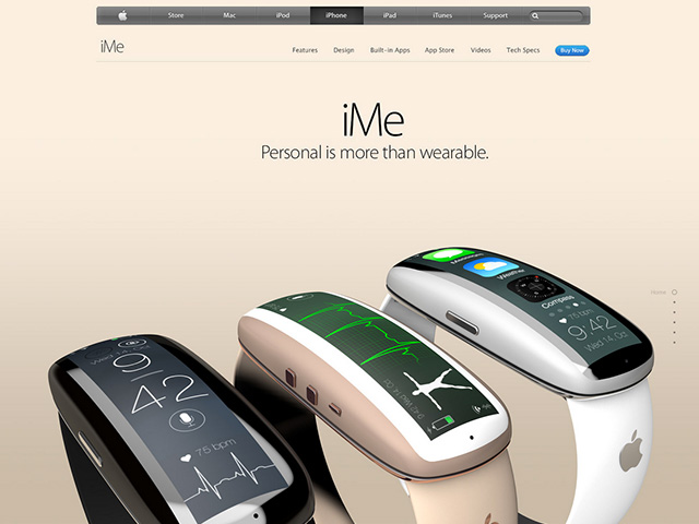 iMe concept iWatch : image 7
