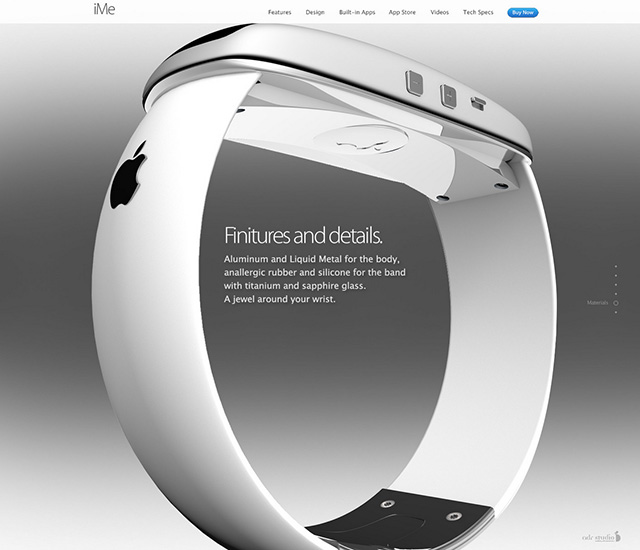 iMe concept iWatch : image 9