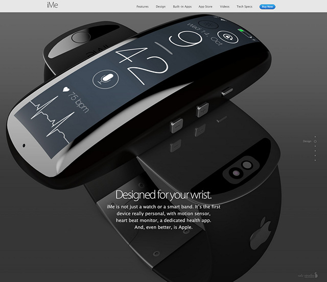 iMe concept iWatch : image 10