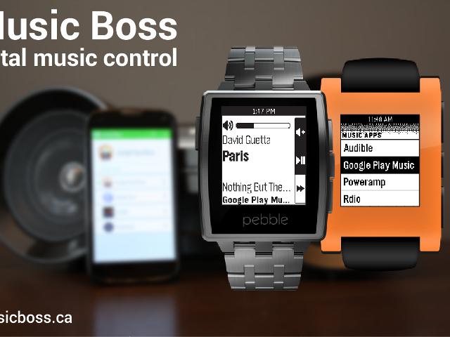 Music Boss : le contrôle du Chromecast depuis la Pebble