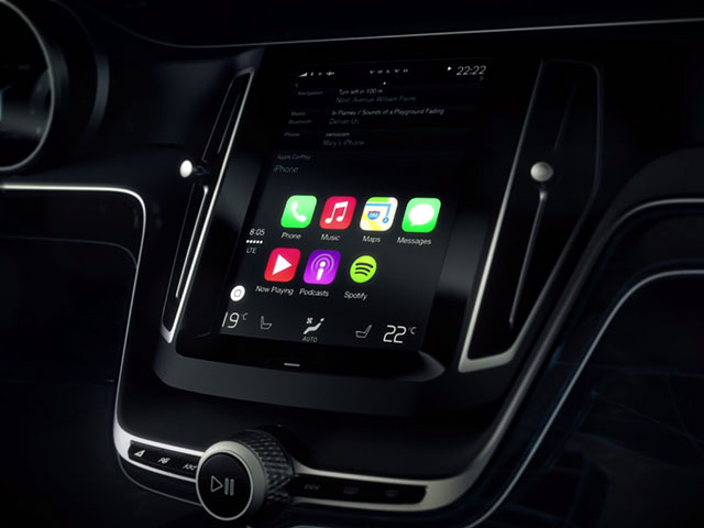 Pub Volvo CarPlay Apple