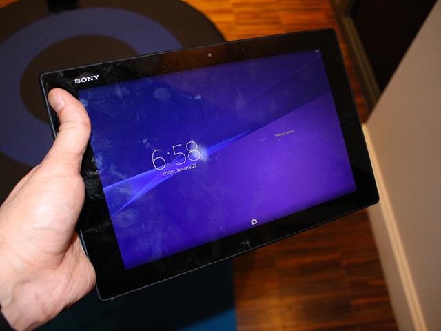 Sony Xperia Z2 Tablet : photo 2