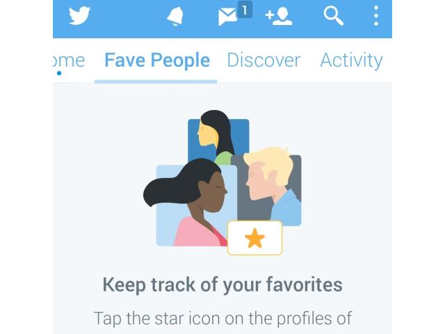 Twitter : un nouvel onglet pour vos favoris