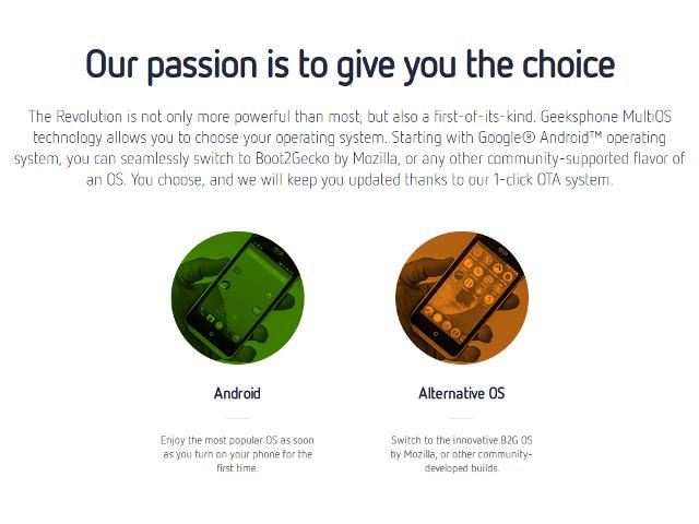 Ubuntu sera-t-il une troisième option pour le Revolution ?