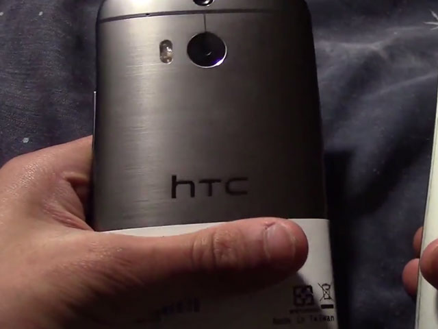 Vidéo HTC M8